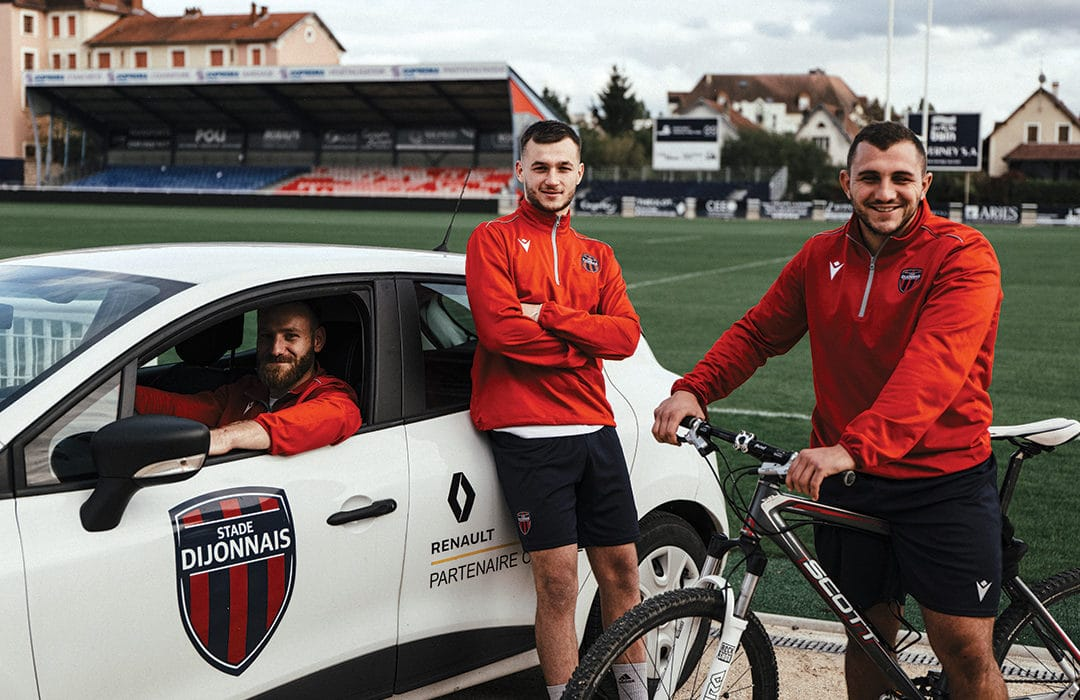 Rugby, Vélo, Auto